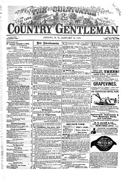 Download The Cultivator   Country Gentleman Book