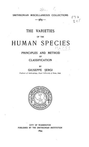 The Varieties of the Human Species PDF