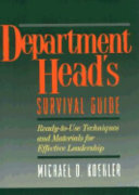 Department Head's Survival Guide