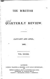 The British Quarterly Review: Volume 33