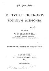 M. Tulli Ciceronis Somnium Scipionis, ed. by W.D. Pearman