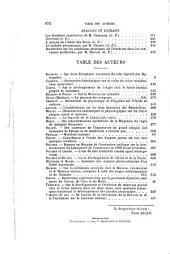 Journal de l'anatomie et de la physiologie normales et pathologiques de l'homme et des animaux: Volume25