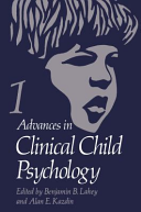 Advances in Clinical Child Psychology PDF