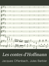 Les contes d'Hoffmann: The tales of Hoffmann