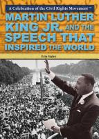 Martin Luther King Jr  and the Speech that Inspired the World PDF