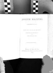 Joseph Mazzini: A Memoir by E. A. V.