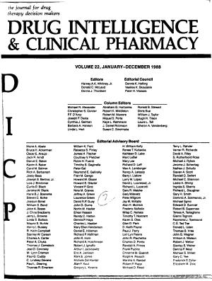 Drug Intelligence   Clinical Pharmacy PDF