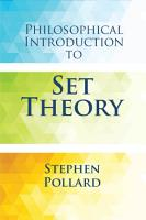 Philosophical Introduction to Set Theory PDF