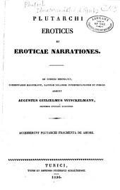 Plutarchi Eroticus et Eroticae narrationes