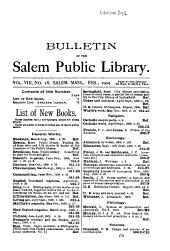 Bulletin: Volume 8, Issues 17-40