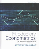 Introductory Econometrics   PAC  MindLink MTap for Introductory Ecconometrics Access Code PDF