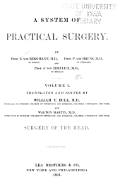 Surgery of the head, tr. and ed. by W.T. Bull and W. Martin