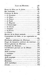 Manuel d'un cours de chimie, ou Principes élémentaires théoriques et pratiques de cette science: Volume2