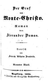 Der Graf von Monte-Christo: Band 9