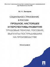 Социальное страхование в России: прошлое, настоящее и перспективы развития. Трудовые пенсии, пособия, выплаты пострадавшим на производстве