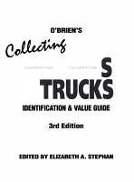 O Brien s Collecting Toy Cars   Trucks PDF