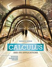 Calculus And Its Applications: Edition 11