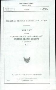 Criminal Justice Reform Act of 1975