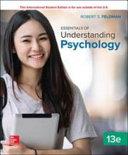 Essentials of Understanding Psychology 13e Book