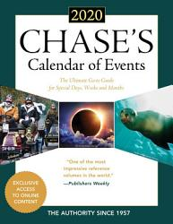 Chase S Calendar Of Events 2020 Book PDF