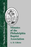 Minutes of the Philadelphia Baptist Association PDF