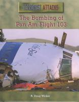 The Bombing of Pan Am Flight 103 PDF