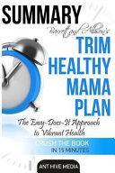 Summary Barrett   Allison S Trim Healthy Mama Plan