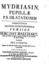 Mydriasis pupillae, P. N. dilatationem