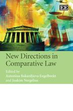 New Directions in Comparative Law PDF