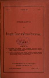 Proceedings of the Engineers' Society of Western Pennsylvania