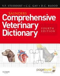 Saunders Comprehensive Veterinary Dictionary E Book Book PDF