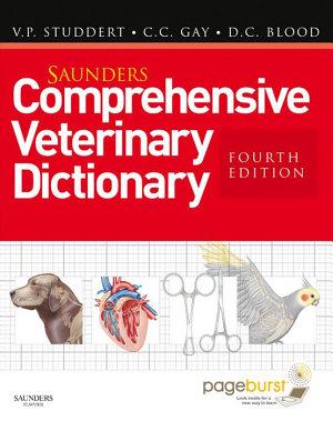 Saunders Comprehensive Veterinary Dictionary E Book PDF