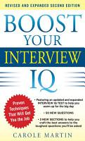 Boost Your Interview IQ 2 E PDF