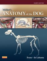 Miller s Anatomy of the Dog   E Book PDF