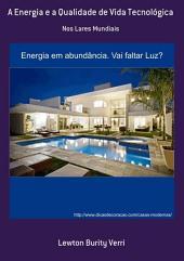 A Energia E A Qualidade De Vida Tecnológica