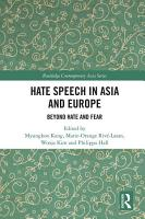 Hate Speech in Asia and Europe PDF