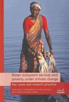 Water Ecosystem Services and Poverty Under Climate Change PDF