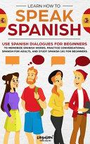 Learn How to Speak Spanish PDF