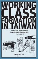 Working Class Formation in Taiwan PDF