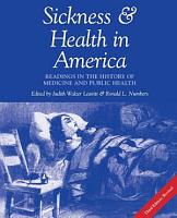 Sickness and Health in America PDF