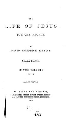 The Life of Jesus  for the People