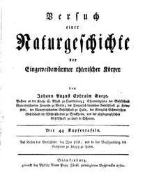 Versuch einer Naturgeschichte der Eingeweidew  rmer thierischer K  rper PDF