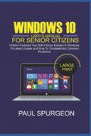 Windows 10 User's Manual For Senior Citizens