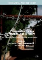 Consociationalism and Power Sharing in Europe PDF