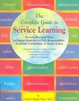 The Complete Guide to Service Learning PDF