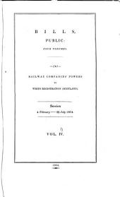 Parliamentary Papers, House of Commons and Command: Volume 4