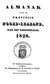Almanak voor de Provincie Noord-Braband, voor het jaar ....: Volume 14
