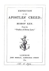 Exposition of the Apostles' creed. From 'Practice of divine love'.