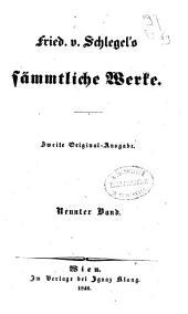 Fried. v. Schlegel's sämmtliche Werke: Studien des classischen Alterthums. Bd.4, Band 1