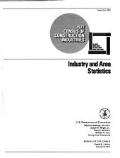 1977 census of construction industries